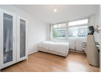 **EXTRA LARGE quite room.3 min tube.11 min Oxford Circus.Quite, CLEAN apartment.1-2 people**