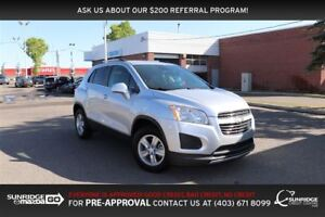 2016 Chevrolet Trax LT, AWD, BACKUP CAMERA, BLUETOOTH