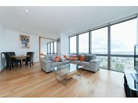 LUXURY 23RD FLOOR 2 BED - NO1 WEST INDIA QUAY E14 - CANARY WHARF DOCKLANS LIMEHOUSE BANK STREET