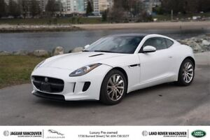 2015 Jaguar F-Type Coupe at Certified Pre-Owned - Local Vehicle!