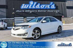 2012 Toyota Camry SE LEATHER TRIM! POWER DRIVERS SEAT! BLUETOOTH
