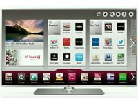 "LG 47"" LED tv smart Wi-Fi built in HD freeview USB media player full hd 1080p."