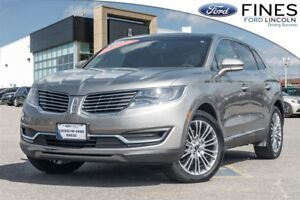 2016 Lincoln MKX Reserve - REVELL II AUDIO & ADAPTIVE HEADLIGHTS