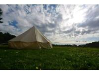 5m Bell tent ( barely used and great condition)
