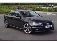AUDI A4 BLACK EDITION, SLINE, AUTO - BANG & OLUFSEN SOUND SYSTEM, BLACK STYLING PACKAGE,