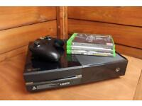 Xbox one 50ogb console bundle + 3 Games