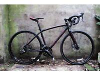 FORME HOOKLOW 1. 18 inch, 46 cm. Multi-route cyclocross road racing bike, 28 speed, disk brakes