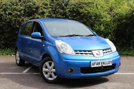 NISSAN NOTE 1.6 Acenta 5dr Automatic **FULL SERVICE HISTORY ++2 OWNERS** (blue) 2008