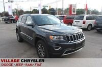 2014 Jeep Grand Cherokee LIMITED 4X4 NAVIGATION,LEATHER,PWR/SUNR