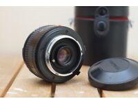 Minolta 16mm 2.8 lens