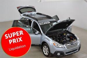 2013 Subaru Outback 2.5 Limited GPS+Cuir+Toit Pano+Camera de Rec