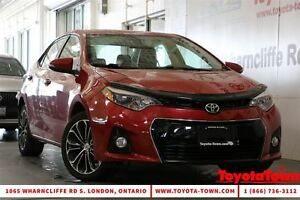 2015 Toyota Corolla S UPGRADE MOONROOF BACKUP CAMERA