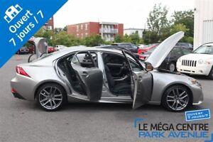 2014 Lexus IS 250 F-SPORT,**RÉSERVÉ** AWD, NAV, CUIR, TOIT