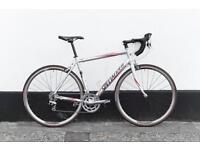 Specialized allez sport 56 cm L size full tiagra parts
