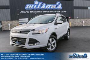 2014 Ford Escape SE 4WD! LEATHER! NAVIGATION! REAR CAMERA+PARKIN