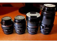 Canon Lenses for Sale - Various
