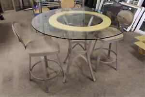 Pub Style Table with 2 Matching Stools