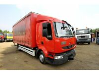 2010 RENAULT MIDLUM 4X2 CURTAIN SIDER WITH TAIL LIFT DAF TIPPER CURTAIN SIDER SCANIA MAN DAF