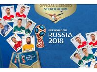 World Cup Sticker Swaps by Post