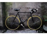 RALEIGH RECORD SPRINT, 23.5 inch, 60 cm, Reynolds 501, vintage racer racing road bike, 10 speed