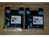 2x 100% Genuine HP 336 Black Ink Cartridge for Photosmart C3180 etc