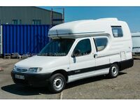 Romahome Duo High Top Motorhome, LHD, 2002, 1.9 Diesel, 70,366 Kilometres, Compact Camper, Offers/PX