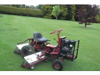 Saxon Ride On 3 Gang Cylinder Lawnmower Lawn Mower For Sale Armagh Area