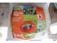 Camping/caravan power cable - unopened