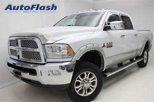 2014 Ram 2500 Laramie * Diesel *Navi* Cuir/Leather *Toit/Sunroof