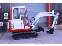 1999 TAKEUCHI 2.7 TON MINI DIGGER WITH 3 BUCKETS