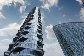 BRAND NEW 33RD FLOOR STUDIO - VACANT - Providence Tower E14 - CANARY WHARF DOCKLANDS BLACKWALL WAY