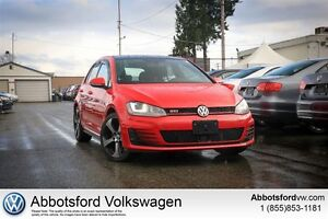 2015 Volkswagen Golf GTI 5-Door Performance LOW KM