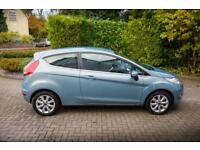 Ford Fiesta Zetec 2009 Blue Recently Serviced