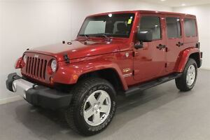 2011 Jeep WRANGLER UNLIMITED Sahara|Htd. Seats|Red|PST Paid