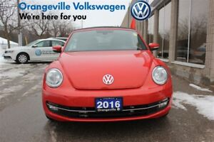 2016 Volkswagen The Beetle Convertible Comfortline 1.8T 6sp at w