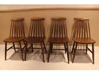 Set of four Ercol Chairs