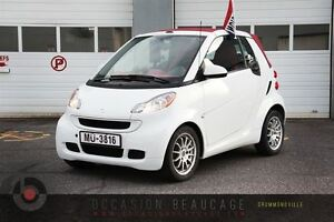 2011 smart fortwo PASSION CABRIOLET - BAS MILLAGE - AUBAINE!!!