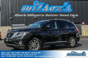 2014 Nissan Pathfinder SL 4X4 SUV! LEATHER! HEATED SEATS! BLUETO