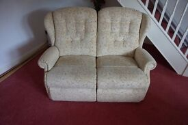 Sherborne Suite including Reclining Armchair, 2 Seater Sofa and Footstool