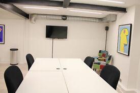 14 Person media-style office in-E1 Shoreditch