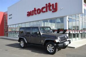 2014 Jeep Wrangler Unlimited Sahara | Removable Roof/Doors |