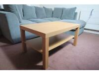 IKEA LACK Coffee Table Oak Effect Good Condition