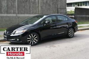 2013 Honda Civic Touring + NAVI + NO ACCIDENTS + FULLY CERTIFIED