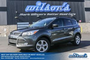 2015 Ford Escape SE 4WD! LEATHER! NAVIGATION! PANORAMIC SUNROOF!