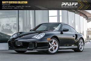 2003 Porsche 911 Carrera 4 Turbo Coupe - *MANUAL*, LOW KMS!