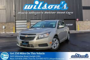 2014 Chevrolet Cruze LT AUTOMATIC! REMOTE START! BLUETOOTH! CRUI