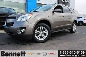 2012 Chevrolet Equinox 1LT AWD - 2.4L I4 cyl, Backup Camera, Blu