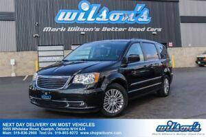 2016 Chrysler Town & Country TOURING LEATHER! DVD/BLU-RAY! REAR