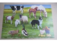 Early Learning Centre Farm Animals Jigsaw Age 3-8