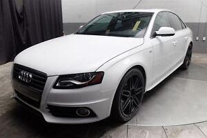 2012 Audi A4 S-LINE QUATTRO 2.0T TOIT CUIR BANG & OLUFSEN
